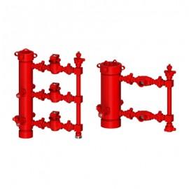 Головка цементировочная универсальная с манифольдом ГЦУ-М
